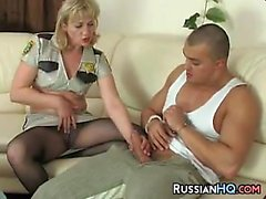 Russian Woman In Pantyhose