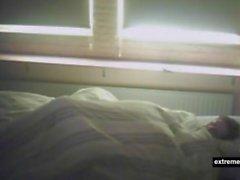 Шпионаж моих аппликатур пухлой мамы в своей спальне