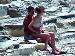 casal tímido fuking na praia!