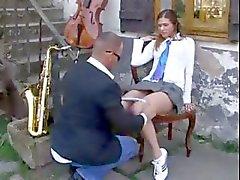 Üniformalı Öğretmen lanet kız öğrenci