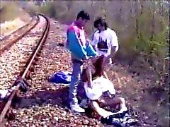 Railway Gangbang