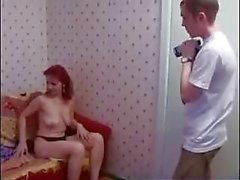 Russa Passo mamma e figlio