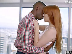 Gwen Stark Red Head Hotty Likes Darksome Penis HD July 25 2015
