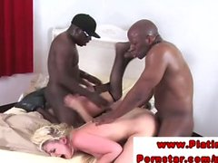 Katie St Ives getting interracial