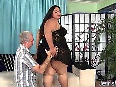 Gras de latine BBW Lorelai Givemore convoi exceptionnel le sexe