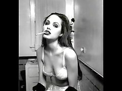 Smoking Women B&w By Antz