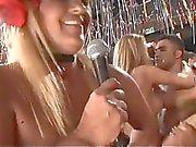 Wildes anal Orgie am brasilianisch Partei