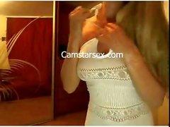 Heiße Mädchen Masterbating auf dem Webcams