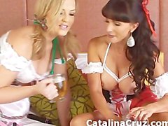 Catalina Cruz lesbian live sex with Alexis Texas