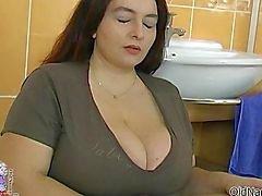 A mulher gorda peituda vale chupar loucas
