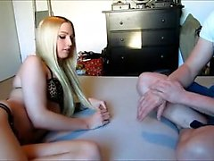 Blonde German partneris hot sex tape