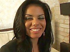 Beautiful Latina babe assfucked for good