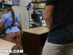 Polizei Frau wird gefickt