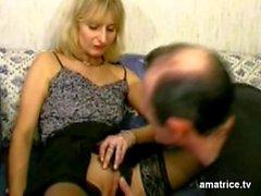 i Trucchi bionda matura dal marito
