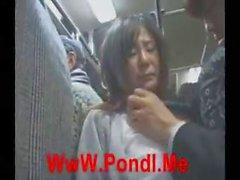 [Japan Porn] Public Blowjob On Bus 01