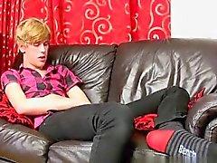 Gay movie 18 vuotta vanha Austin Ellis ei meheviä homo guy DE