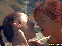 Sabrina Maree and friends are Naked and wet