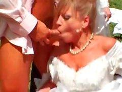 Gangbanging the bride