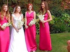 Malena Morgan, Aurielee Summers y dos nobodies en Lesbian Foursome !!