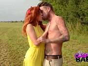 COSPLAY BABES Redhead Asuka fucked in the country