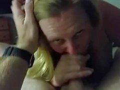 Mia moglie viseificati dopo il cerchio e pompino