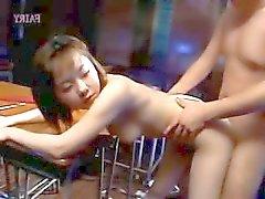 sesso japanese della classe di scuola