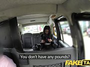 Fake Taxi Spanish brunette beauty with nice shaved pussy