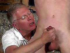 Gay deep throat sex image galleries Sean McKenzie is trussed
