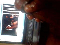 Meinem Handjob mit meiner Hahn ( Indianerjungen Hand ) .