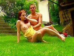 Seks in de tuin