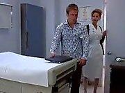 Nurse makes the prostate massage