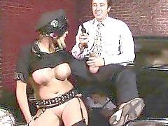 Romana Ryder haylaz tarafıyla a polis. alıcı sonra ...