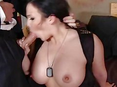 Emma Heart Double Fucked by Spies