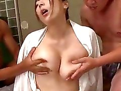 Gangbang pleasures for cock sucking Mirei Yokoyama