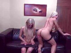 Webcam lesbo vitun strapon amatööri