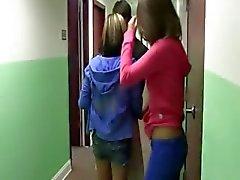 Jonge student neuken chicks