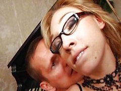 Лилии Labeau в очках и Ian Scott