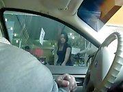 Blitz und Sperma im Auto 1