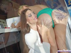 Step-Sister Foot and Food Play Mindi Mink and Cherie DeVille