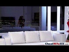 Hardcore Sex Tape mit Cheating Superb Frau (Rachel Starr) Clip-26