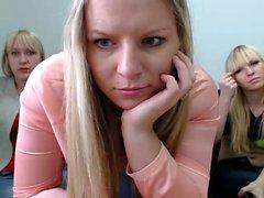 Lesbo tyttöystävät webcam kolmikko