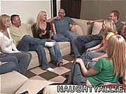 Party game leads to a huge swinger orgy