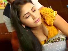 Kauniin indian desi tyttö ottaa Romance home - teen99