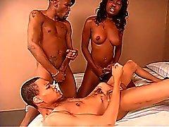 Negro los hombres Bisexual Con La Mujer Negro
