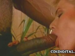 Lauryl Canyon Blonde Bimbo reitet ein Big Black Dong