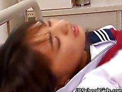 Hikaru Ayuhara Japans schoolmeisje