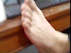 различных прямой ребята ноги на веб-камеру