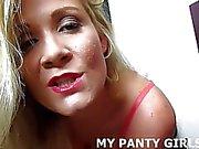 De mes de polka de culotte sont si sexy baise de JOI