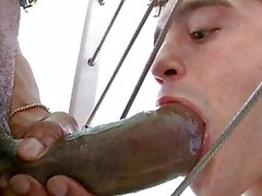 Handsome guy and big cock