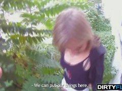 Dirty Flix - Angel Piaff - выебанная за наличные до даты